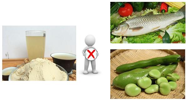 吃三七粉为什么不能吃蚕豆?