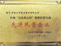 七丹药业被授予文山州
